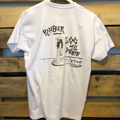 T- shirt Rambler Log Til Death