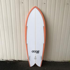 Cj surfboard TWIN double trouble 5'4