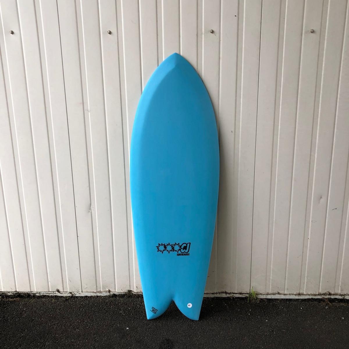 Cj surfboard TWIN double trouble 5'2
