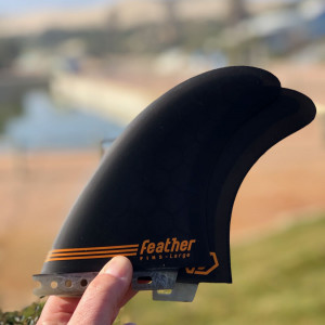 Dérive feather fins Twin Perf click tab