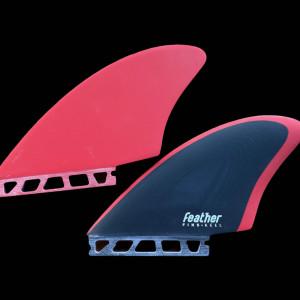 Twin Keel Feather fins