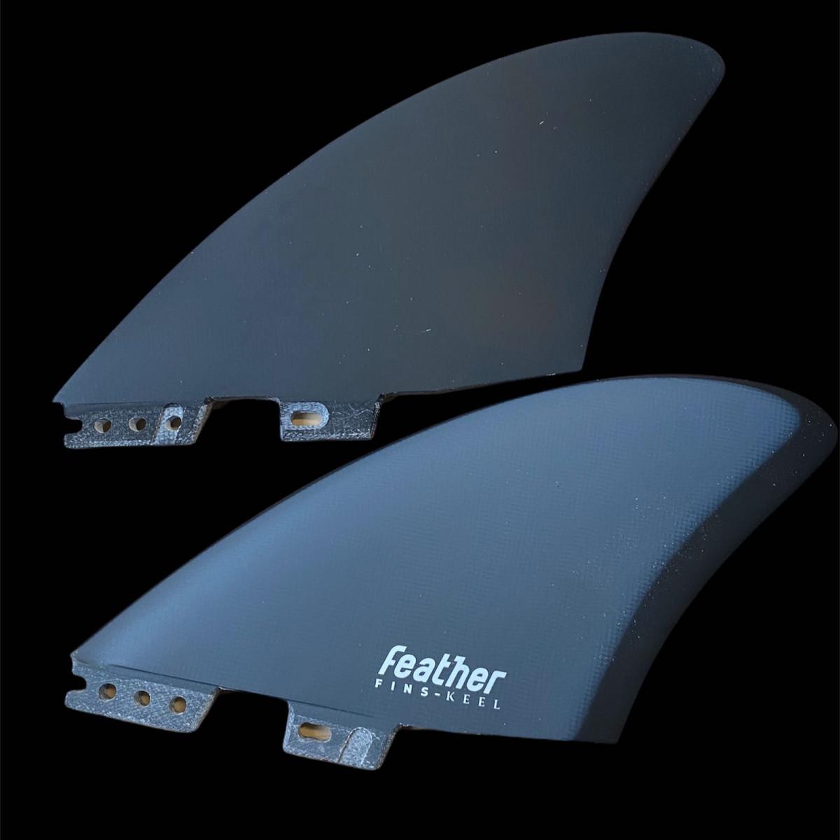 Twin keel Featherfins click tab