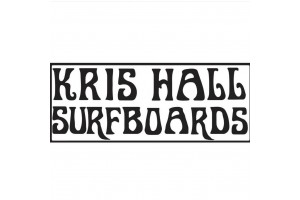 Kris hall surfboard